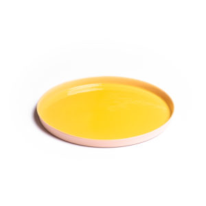 Soft Pink – Yellow Plate