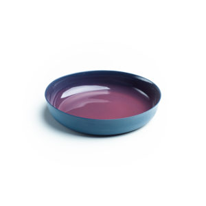 Blue – Plum Purple Deep Plate